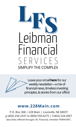 VERTICAL Leibman Financial ad for community pages