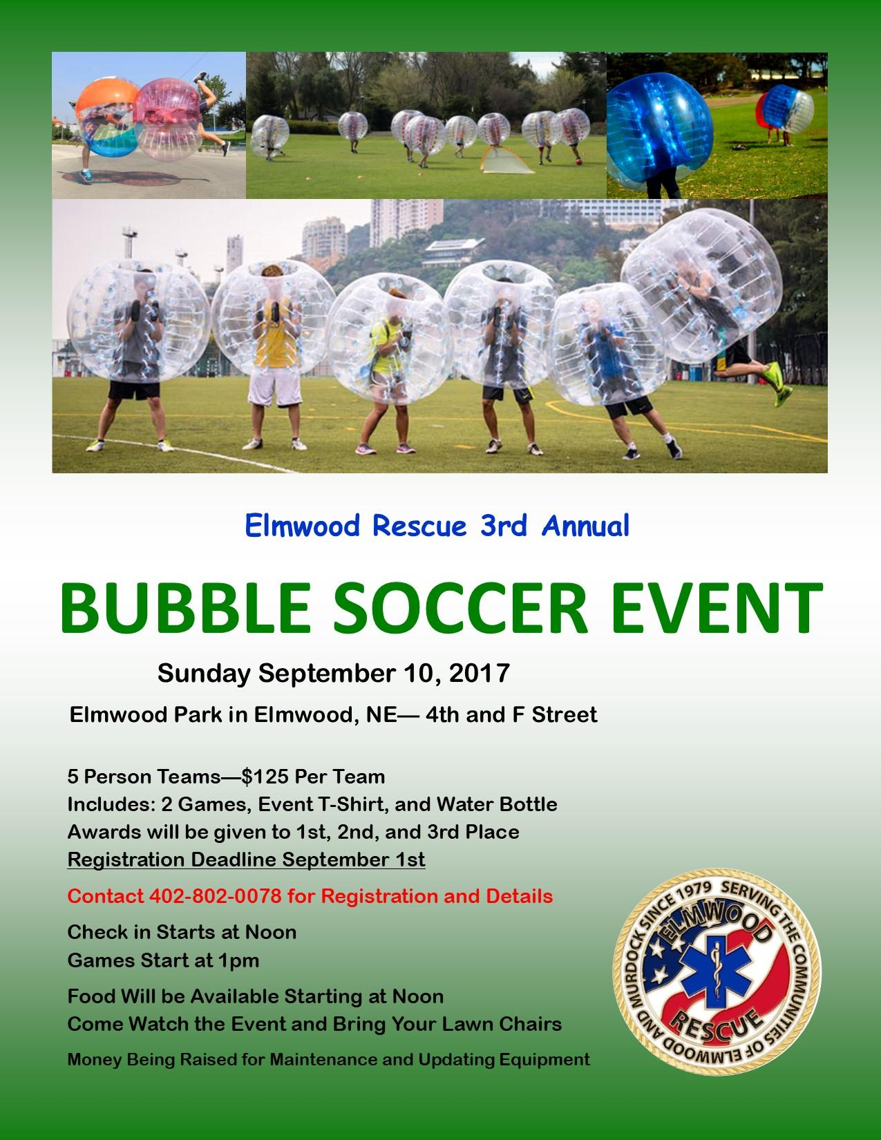 Bubble Soccer Flyer 2017 1