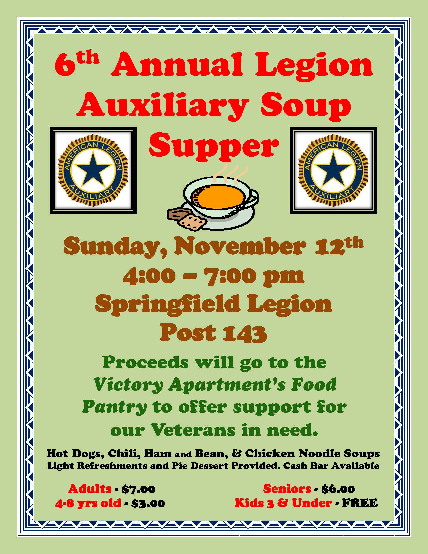 Soup Supper Flyer