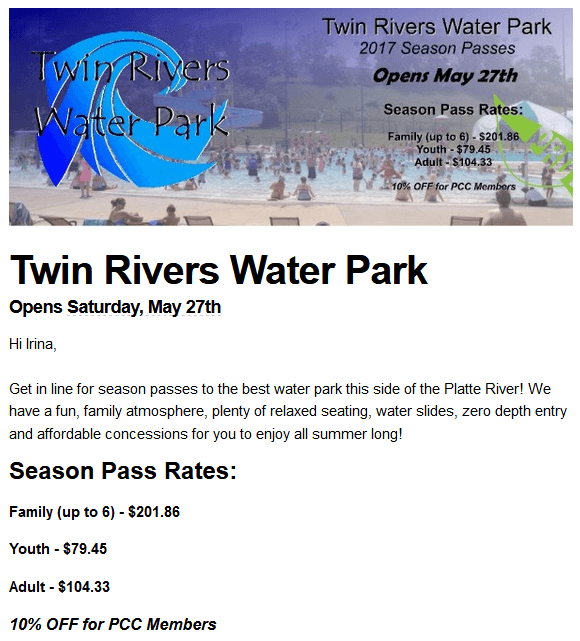 3rivers water park