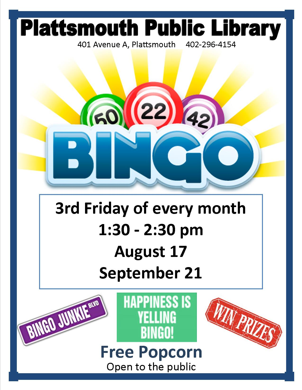 Bingo on Fridays