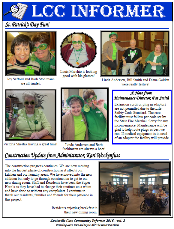 LCC Newsletter 516a