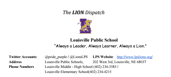 Lion Dispatch 0530