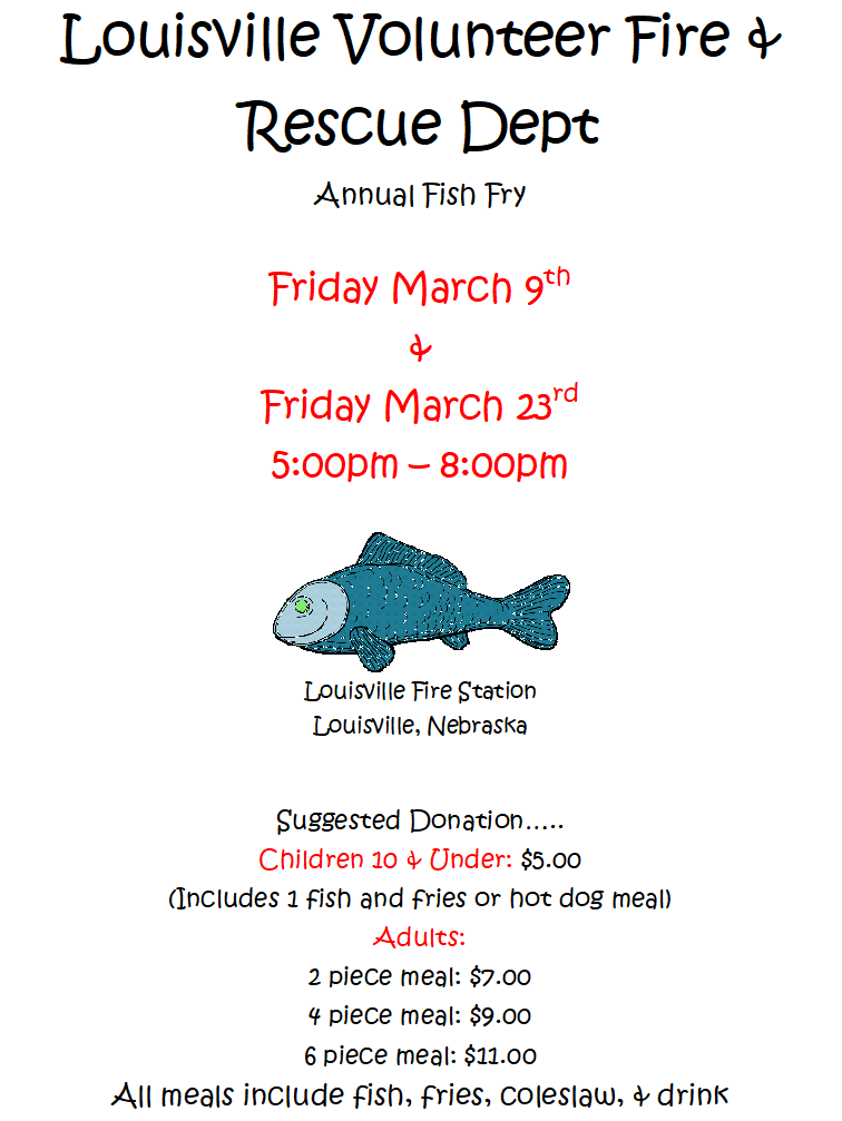 Louisville FD Fish Fry