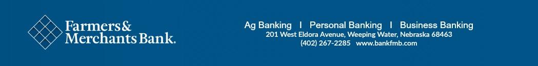 Farmers and Merchants Bank Principal Sponsor