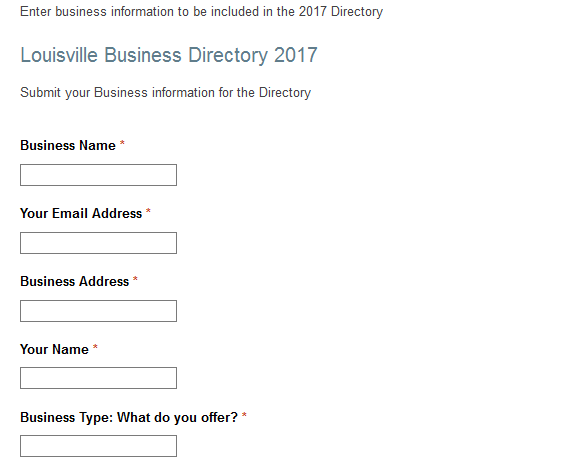 business directory 2017