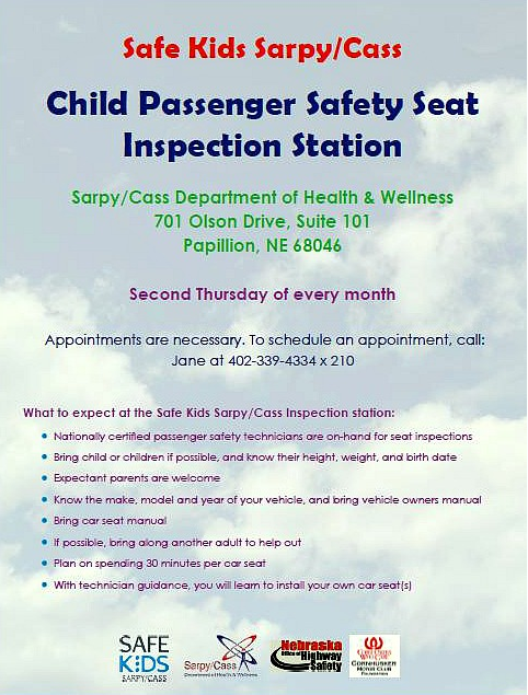 child seat 2nd thur