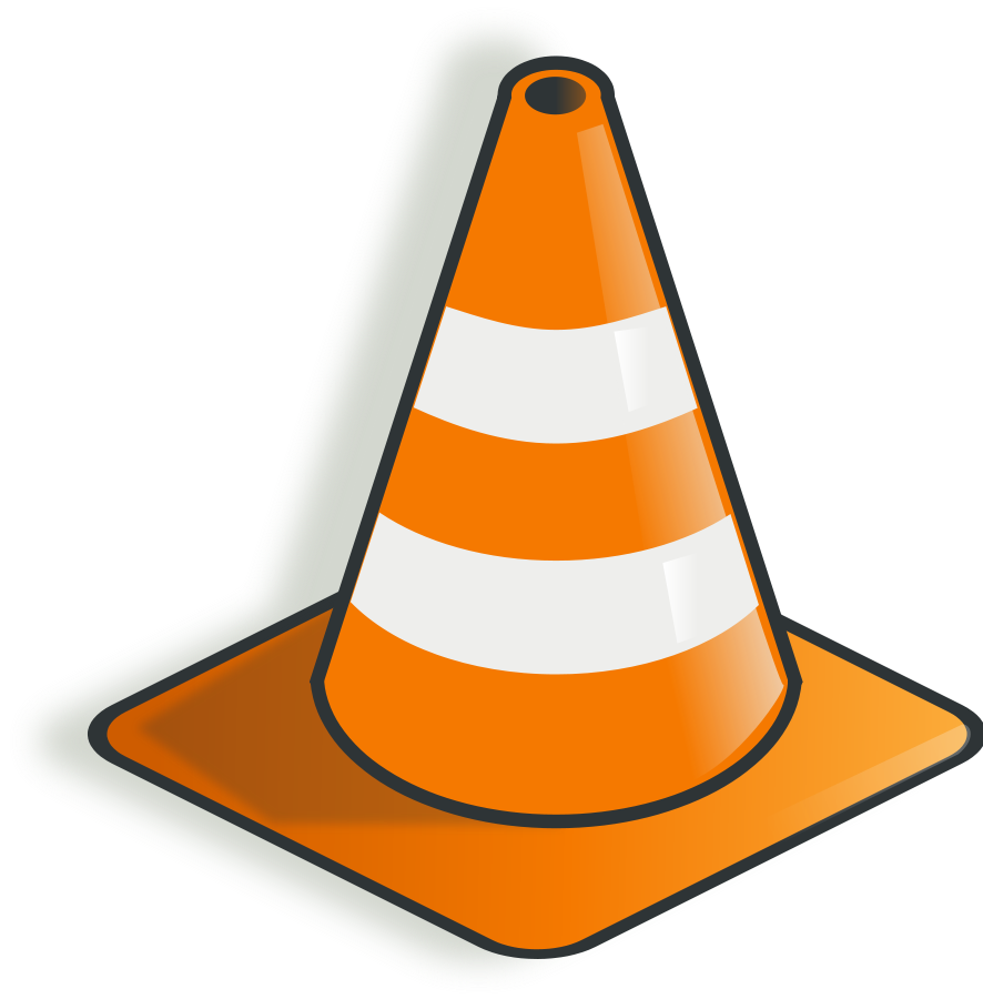 construction cone clipart 15023 construction cone vector