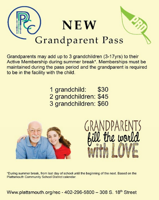 grandparent pass2017